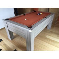 Cry Wolf - Driftwood Square/Straight Leg - Slate Pool Table - 6ft & 7ft