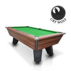 Cry Wolf - Walnut Original Pub/Bar Style - Slate Pool Table - 6ft & 7ft