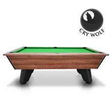 Walnut Wolf - Dark Walnut - Original Tournament Edition - Slate Pool Table - 6ft & 7ft