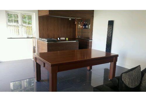 Rex Hardwood | Sovereign | Slate Pool Dining Table | 6ft, 7ft & 8ft