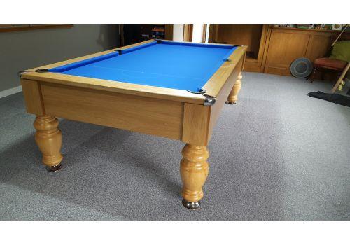 Rex Hardwood | Banker | Luxury English/American Pool Table | 8ft