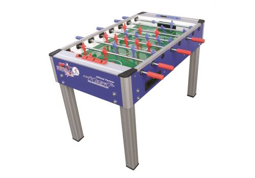 Roberto College Pro Table Football - Blue - 4ft