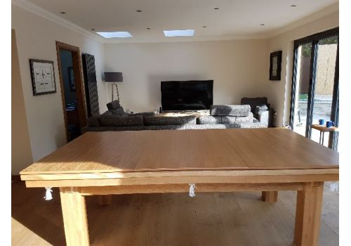 Rex Hardwood | Le'Gets 2 | Luxury Snooker/Pool Dining Table | Various Sizes