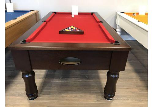 Rex Hardwood   Original Round/Turned Leg   English Pool Table   6ft & 7ft