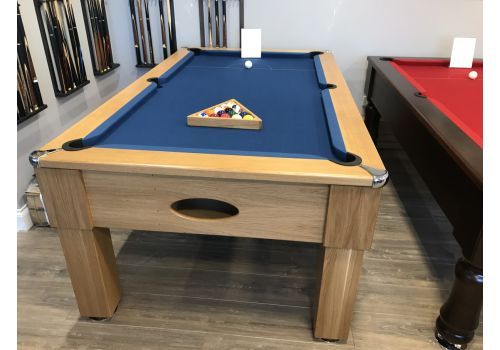 Rex Hardwood | Original | Straight/Square Leg | Luxury English Pool Table | 6ft & 7ft