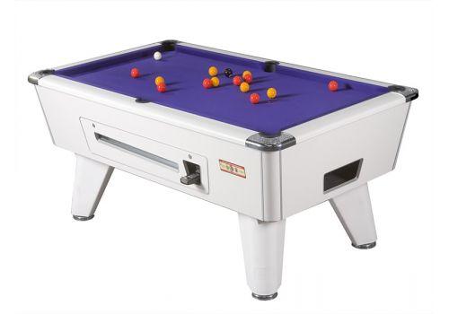 Supreme Winner pool table - white purple
