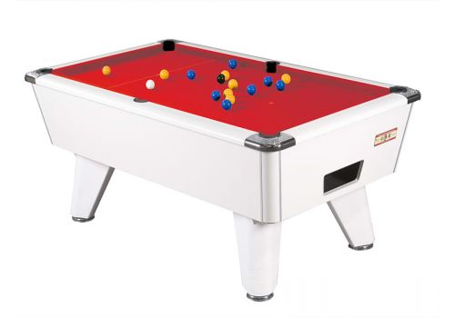Supreme Winner pool table - white red