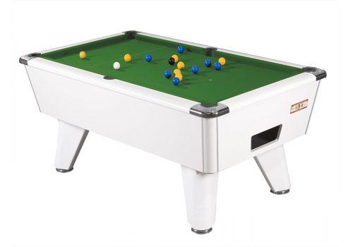 Supreme Winner pool table - white green