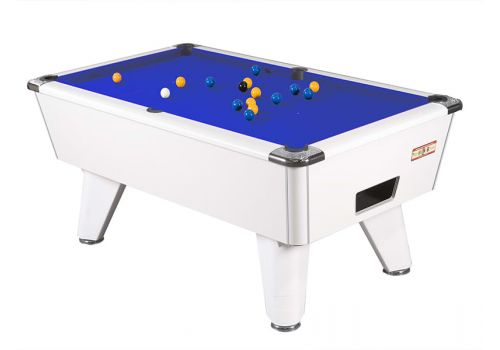Supreme Winner pool table - white blue
