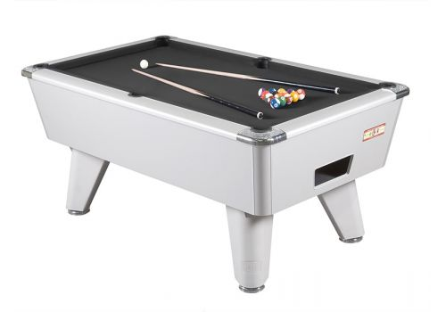 Supreme Winner Aluminium Pool Table - Black Cloth