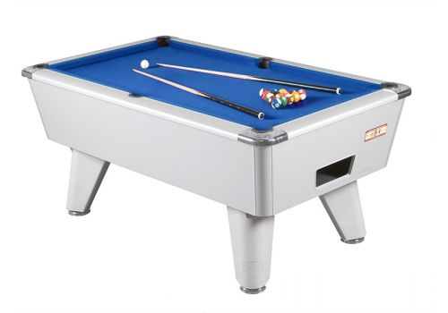 Supreme Winner Aluminium Pool Table - Blue Cloth