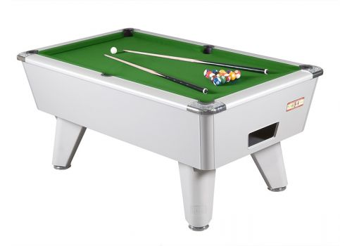 Supreme Winner Aluminium Pool Table - Green Cloth
