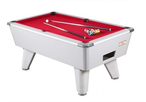 Supreme Winner Aluminium Pool Table - Red Cloth