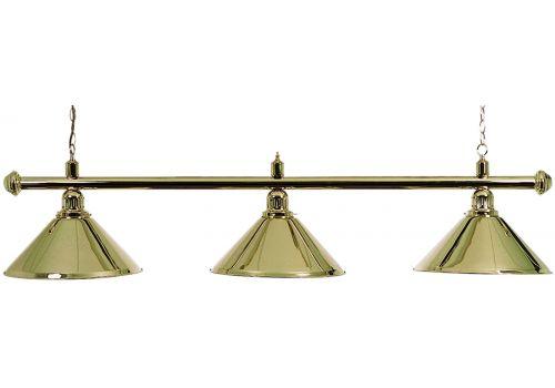 Brass 3 Shade Lamp