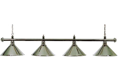 Chrome 4 Shade Lamp