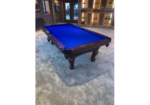 Buffalo | Napoleon | Cherrywood | American Pool Table | 8ft | Elite Pro Royal Blue