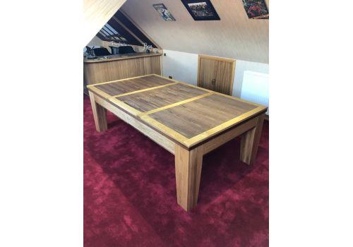 Rex Hardwood | Fusion Icon | Luxury Pool/Snooker Dining Table | 7ft & 8ftRex Hardwood | Fusion Icon | Luxury Pool/Snooker Dining Table | 7ft & 8ft