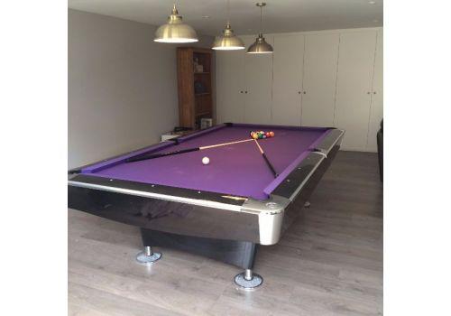 Buffalo Pro 2 (II) - Gloss Black - American Pool Table - 8ft & 9ft