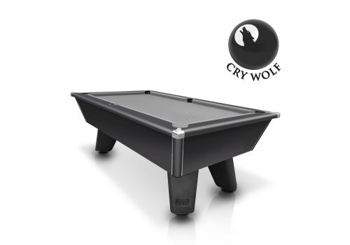 Black Wolf Matt Black Original Tournament Edition Pool Table