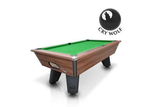 Brown Wolf Dark Walnut Original Tournament Edition Pool Table