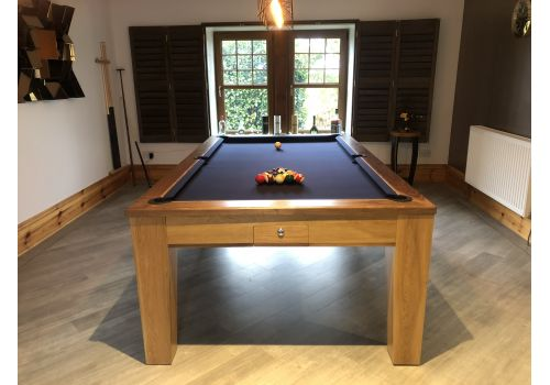 Rex Hardwood | Fusion Icon | Luxury Pool/Snooker Dining Table | 7ft & 8ft