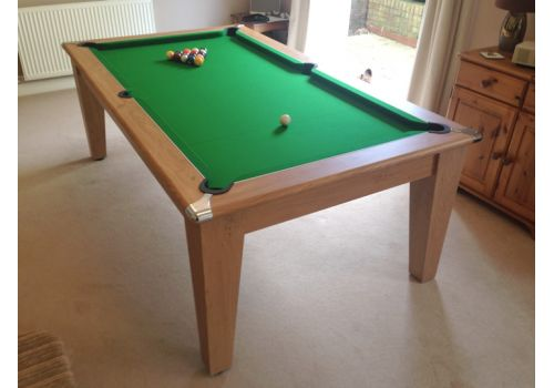 Classic Diner Pool Table by Gatley in Club Green Cloth