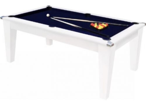 The Classic Diner Gloss White Pool Table