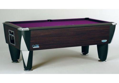 Sam | Atlantic Champion | Gloss Borneo | Luxury Slate Pool Table | 6ft & 7ft Sizes