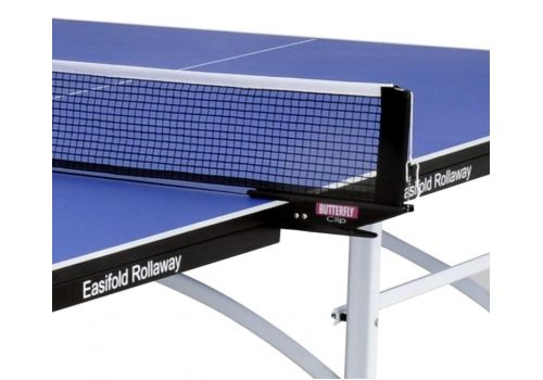 Butterfly Easifold 19 Indoor Rollaway Table Tennis Table - Blue