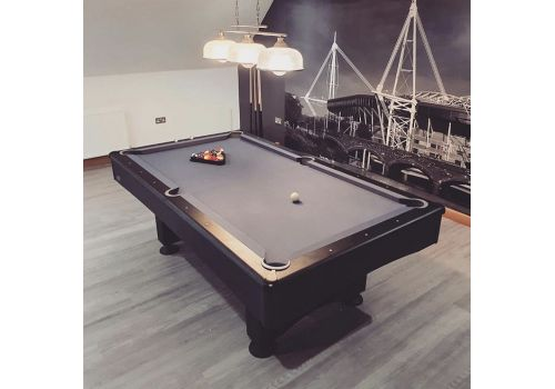 Buffalo | Eliminator 2 (II) | Black & Slate Grey | American Pool Table | 7ft & 8ftBuffalo | Eliminator 2 (II) | Black & Slate Grey | American Pool Table | 7ft & 8ft