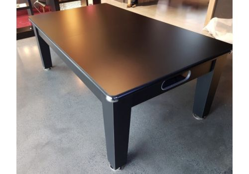 Optima Roma Pool Dining Table in Black