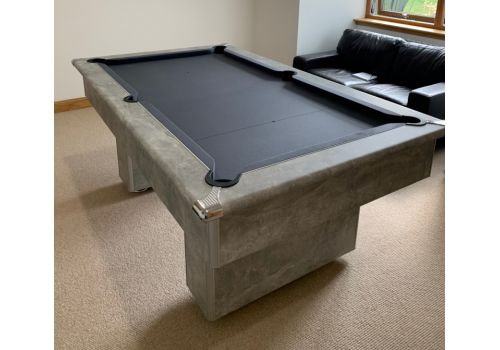 Gatley Classic Slimline Italian Grey Slate Pool Table 6ft Size Smart Special Edition Pewter