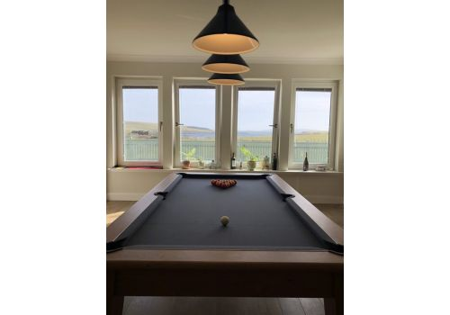Classic Diner Pool Table by Gatley in Smart Pewter Cloth