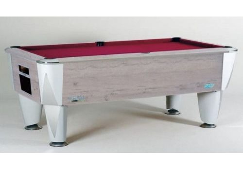 Sam | Atlantic Champion | Polar Oak | Luxury Slate Pool Table | 6ft & 7ft Sizes