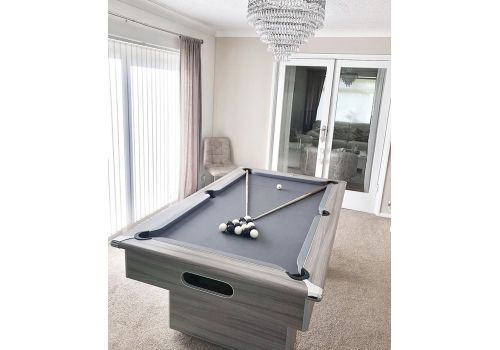 Gatley Classic Slimline in Driftwood with Smart Silver Cloth