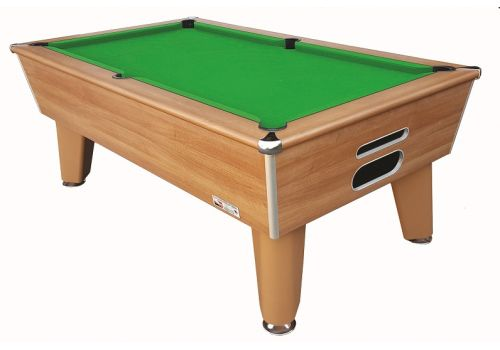 Classic slate bed pool table by Optima in Walnut