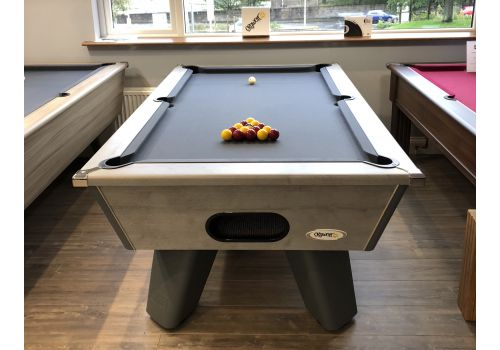 Cry Wolf | Grey Wolf | Urban Grey | Tournament Edition | Slate Pool Table | 6ft & 7ft | Smart Pewter Cloth |