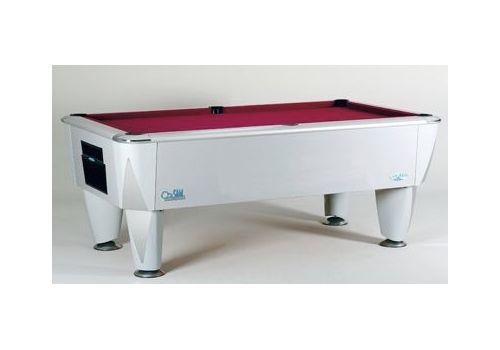 Sam | Atlantic Champion | Silver | Luxury Slate Pool Table | 6ft & 7ft Sizes