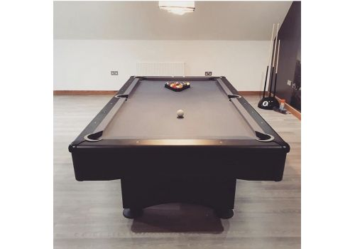 Buffalo | Eliminator 2 (II) | Black & Slate Grey | American Pool Table | 7ft & 8ft