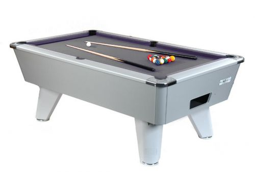 Supreme Winner Aluminium Pool Table - Grey Cloth