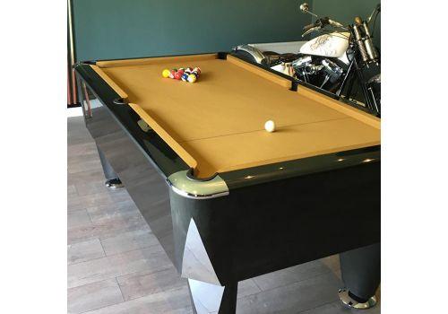 Sam | Atlantic Champion | Gloss Black | Luxury Slate Pool Table | 6ft & 7ft Sizes