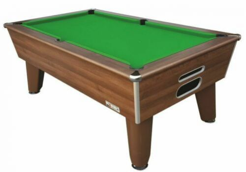 Optima | Classic | Dark Walnut | Slate Pool Table | 6ft & 7ft