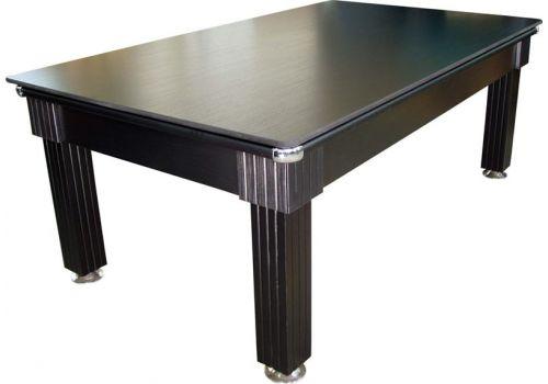 Optima | Florence | Black | Slate Pool Dining Table | 6ft & 7ft Sizes