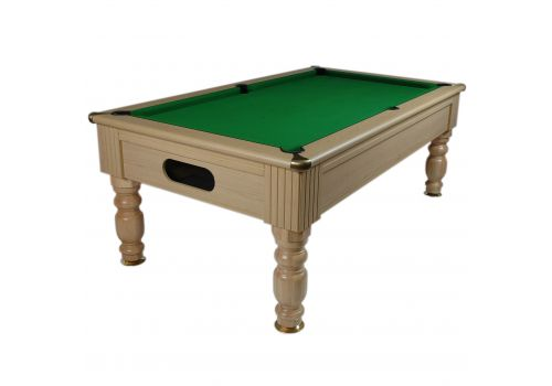 Monaco slate bed pool table by Optima in Light Oak