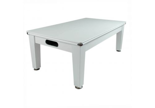 Optima Roma Pool Dining Table in White