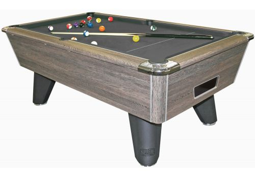 Supreme Heywood | Winner | Rustic | Slate Pool Table Black