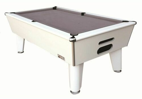 Optima | Classic | White | Slate Pool Table | 6ft & 7ft |