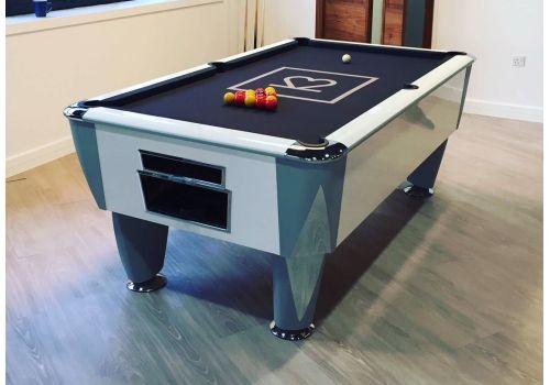 Sam | Atlantic Champion | Gloss White | Luxury Slate Pool Table | 6ft & 7ft Sizes