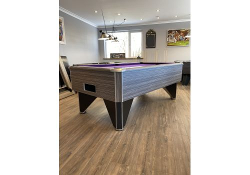 FMF Tournament Pro Zebrano Slate Bed Pool Table