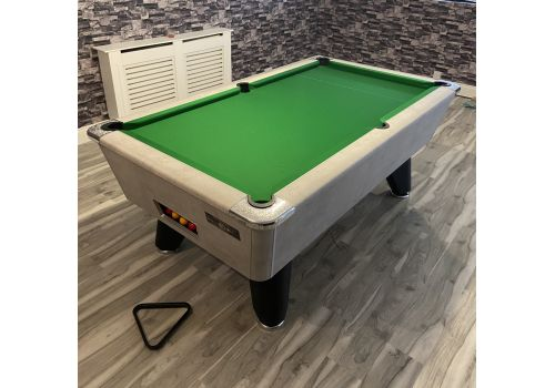 Supreme Heywood | Winner | Special Edition Concrete | Green Cloth | Slate Pool Table with Black Legs
